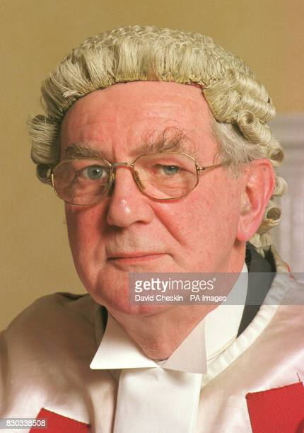 The Honourable Lord Sutherland pictured at the High Court in Edinburgh one of the three judges to hear the trial of two Libyans accused of carrying...