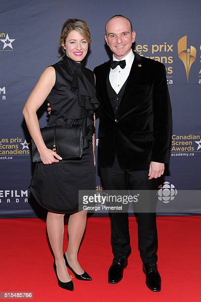 The Honourable Minister Melanie Joly Minister of Canadian Heritage and Randy Boissonnault MP Parliamentry Secretery arrive at the 2016 Canadian...