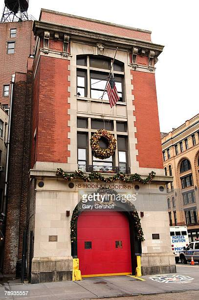 The Hook and Ladder 8 building as seen in the films Ghostbusters and Hitch on January 14 2008 in New York City