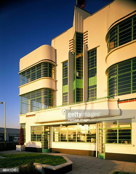 The Hoover Building Western Avenue Ealing London 1990 The facade of this 'bypass factory' located on the busy Western Avenue approach to London was...