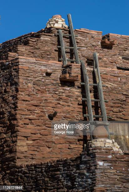 The Hopi House a Native American gift shop located across from the El Tovar Lodge on the South Rim is viewed on February 8 in Grand Canyon National...