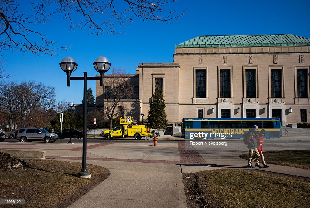 Horace H. Rackham Building At The University Of Michigan : News Photo