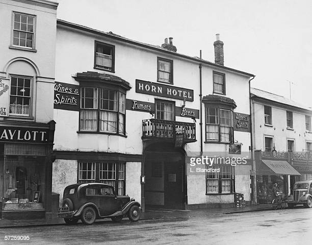 The Horn Hotel in Braintree Essex March 1952