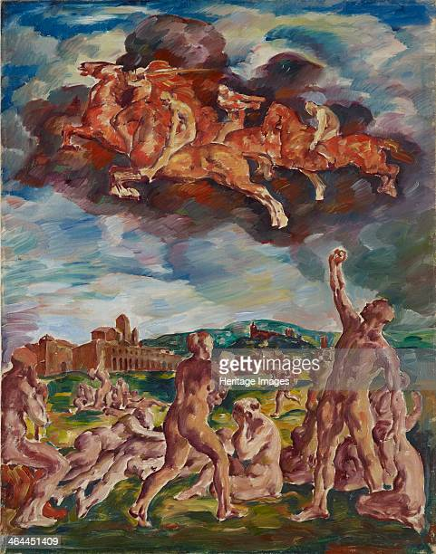 The Horsemen of the Apocalypse 1917 From a private collection
