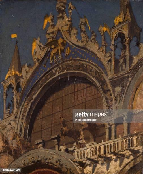 The Horses of St Mark's, Venice, 1905-06. Artist Walter Richard Sickert.