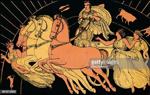 The Horses of the Morning 1880 In Greek mythology Eos is a Titaness and the goddess of the dawn who rose each morning from her home at the edge of...