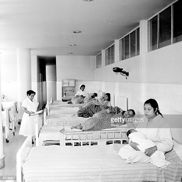 The hospital wing of Mexico City Women's Prison.