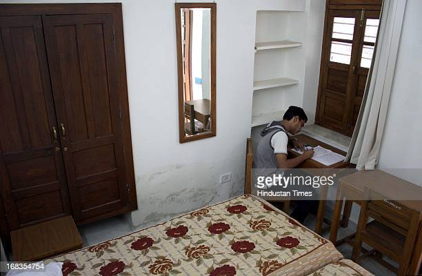 The hostel rooms At Shri Ram College of Commerce North Campus on October 18 2010 in New Delhi India