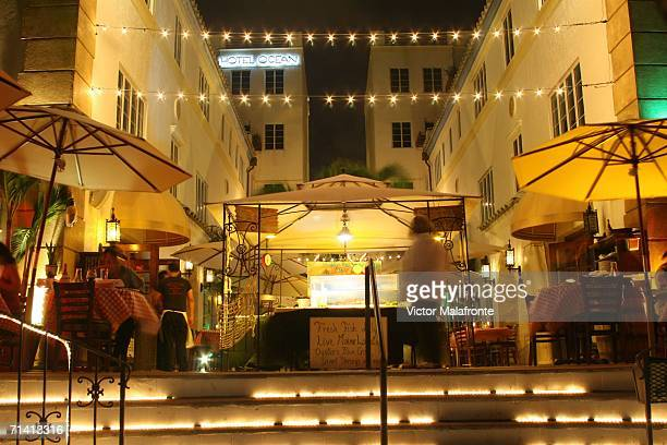 The Hosteria Romana is seen on Ocean Drive July 10 2006 in the South Beach neighborhood of Miami Beach Florida