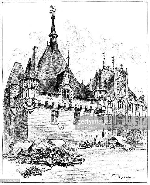 'The Hotel de Ville' 1899 From La Vieille France A print from The Magazine of Art Cassell and Company Limited 1899