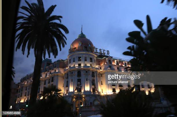 The hotel Le Negresco at the 'Promenade des Anglais' in Nice France 15 September 2016 Photo Ina Fassbender/dpa | usage worldwide