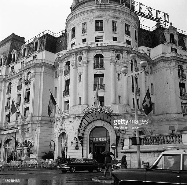 The Hotel Negresco on the 'Promenade Des Anglais' on March 22 1963 in Nice France