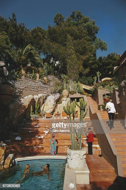 The Hotel Punta Tragara on Capri Italy August 1974