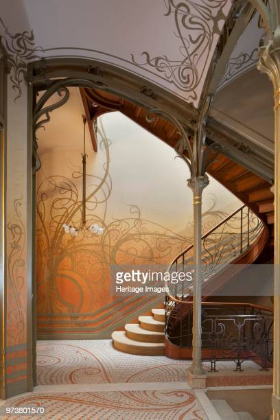 The Hotel Tassel Rue Paul-Emile Jansonstraat, Brussels, Belgium, 2015. The Hotel Tassel is a town house built in 1893-94 by Victor Horta for the...