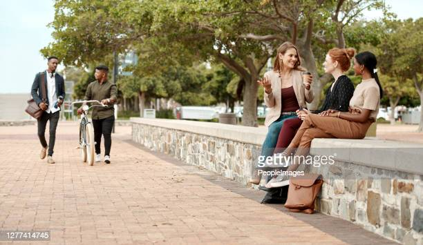 the hottest lunch break spot in town - lunch break stock pictures, royalty-free photos & images