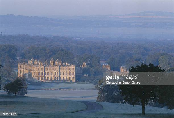 The house and grounds of Longleat in Wiltshire 1990s