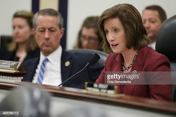 The House Armed Services Committee's Oversight and Investigations Subcommittee Chairwoman Vicky Hartzler delivers opening remarks during a hearing...