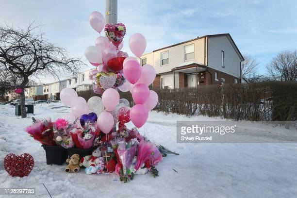 MISSISSAUGA ON FEBRUARY 16 The house at 106 Hansen Road North where Riya Rajkumar was discovered in Brampton Hundreds gather at Meadowvale Village...