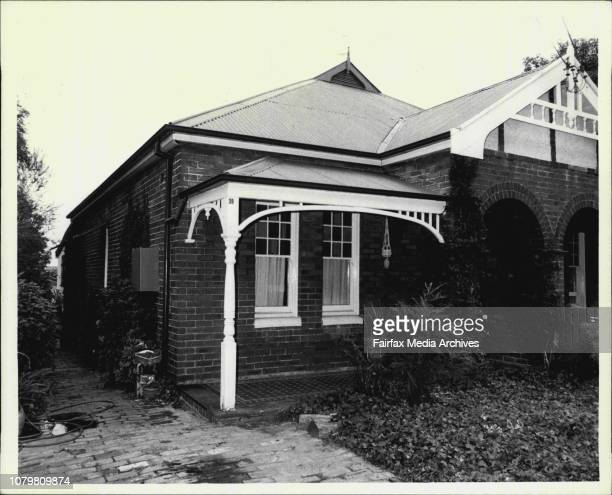 The house at 39 Wilga Ave Burwood where an 18yearold was shot trying to stop another youth from committing suicide December 30 1981