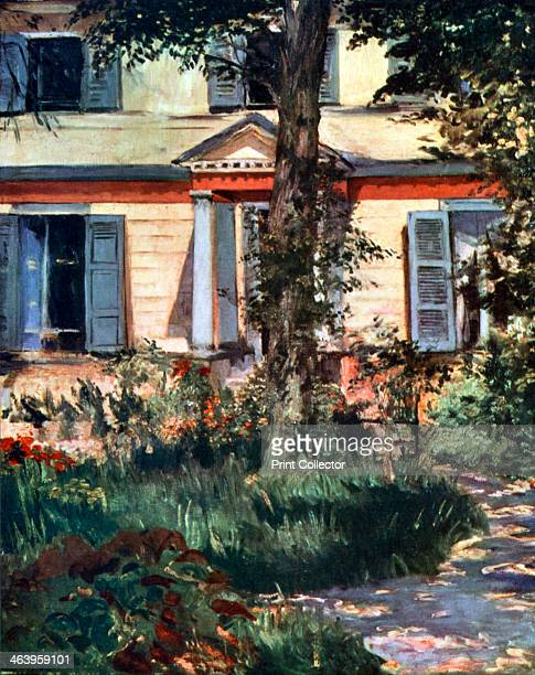 'The House at Rueil' 1882 Original found in the collection of the National Gallery of Victoria Melbourne Australia From Apollo magazine volume IV no...