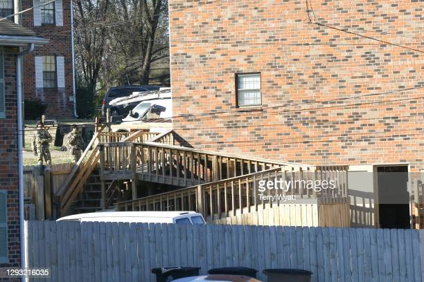 The house belonging to Anthony Quinn Warner, a 63 year-old man who has been reported to be of interest in the Nashville bombing, on December 26, 2020...