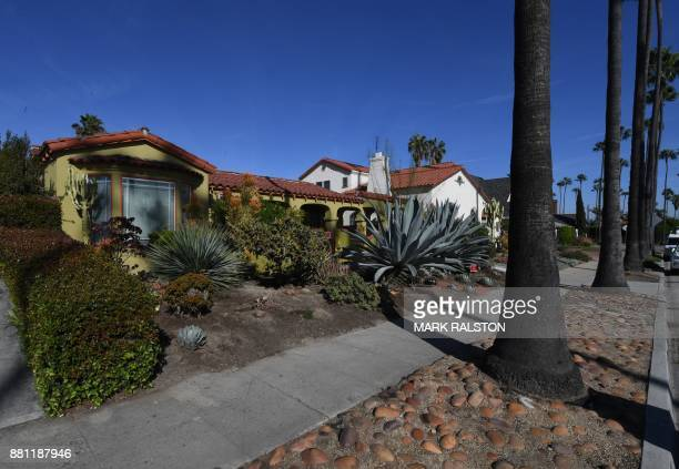 The house belonging to Doria Radlan who is the mother of actress Meghan Markle as Prince Harry and Markle announce their engagement in Los Angeles...