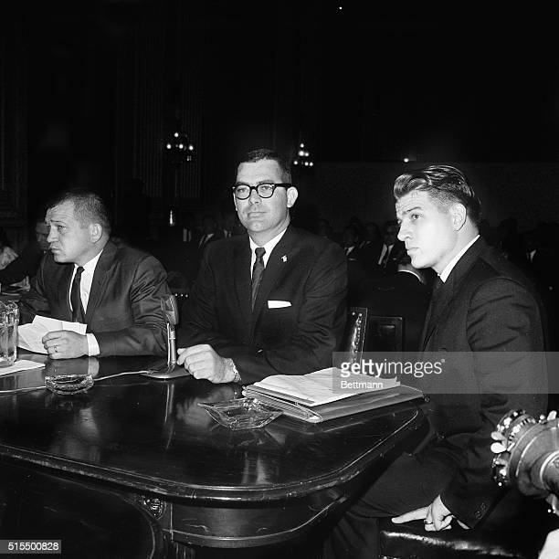 The House Committee on Un-American Activities today swung its spotlight on operations of the Ku Klux Klan in Mississippi. First witness was Gordon...