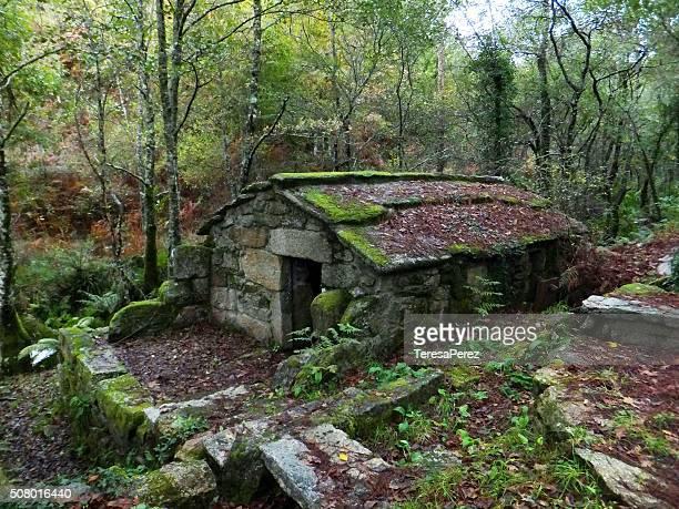 the house elves - 石造りの家 ストックフォトと画像