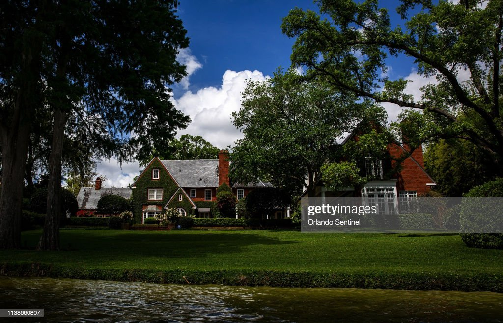 The House Formerly Owned By Fred Rogers Is Seen On Lake Osceola In News Photo Getty Images