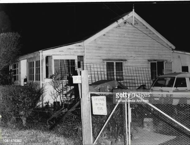 The house in Alpha St Greystanes where a man kept police at bay in a five hour siege August 02 1985