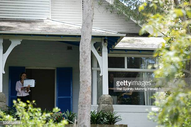 The house in Centennial Park which was owned by Australian Nobel Prizewinning writer Patrick White up for sale for $35 million on 17 November 2004...