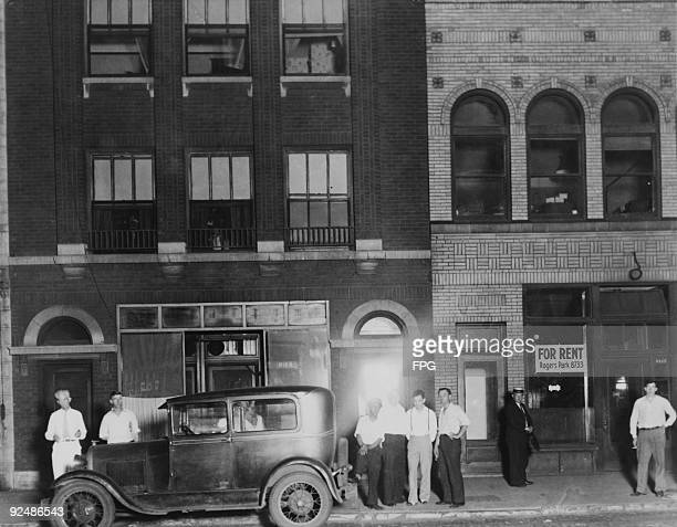 The house in Chicago where American bank robber John Dillinger lived in the weeks preceding his death 1934 It was from here that he made his final...