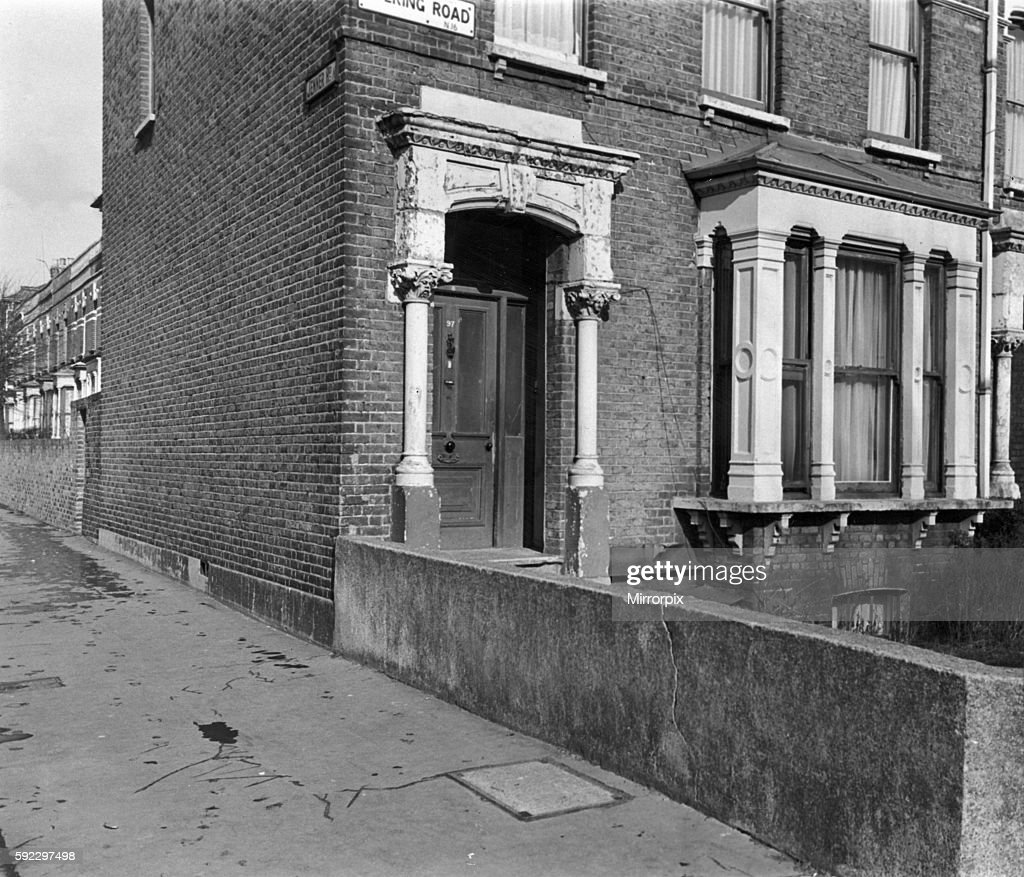 The House in Evering Road, North London, where the alleged