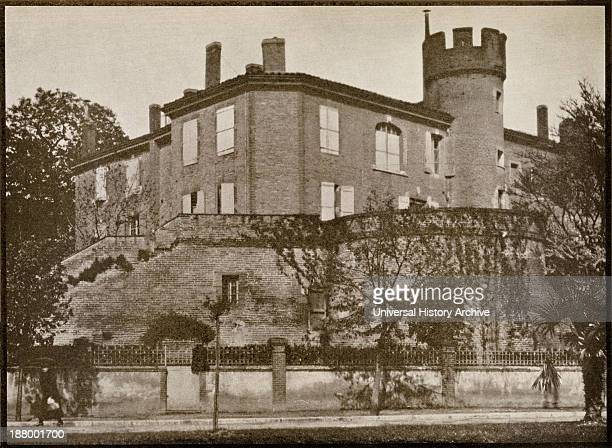 The House In Which Toulouse Lautrec Was Born In Albi Tarn France From A Photograph From The Book Toulouse Lautrec By Gerstle Mack Published 1938