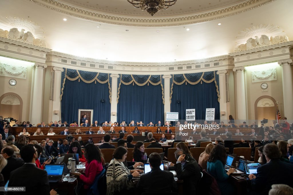 House Judiciary Committee Holds First Impeachment Inquiry Hearing : News Photo