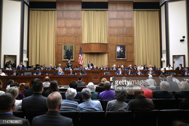 The House Judiciary Committee holds a markup hearing where members may vote to hold Attorney General William Barr in contempt of Congress for not...