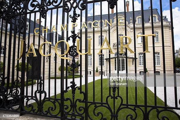 The house of Champagne Jacquart in Boulevard Lundy in Reims ChampagneArdenne France