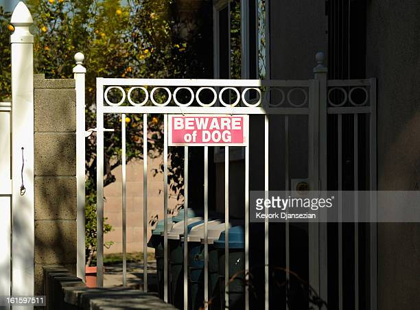 The house of Christopher Dorner's mother is seen as the manhunt continues for the murder suspect on February 12 2013 in La Palma California Dorner a...