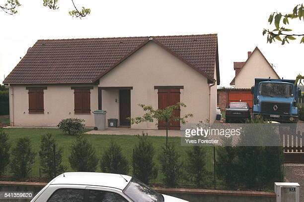 The house of Elisabeth Griffin's and Marylene Roussey's alleged murderer