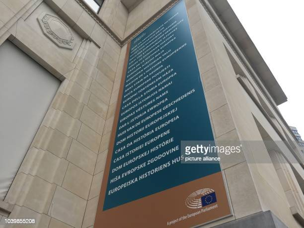The House of European History in Brussels Belgium 04 May 2017 After ten years of planning and construction the House of European History opens to...