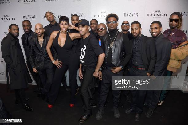 The House of Gorgeous dancers attends the Lincoln Center Fashion Gala An Evening Honoring Coach at Lincoln Center Theater on November 29 2018 in New...