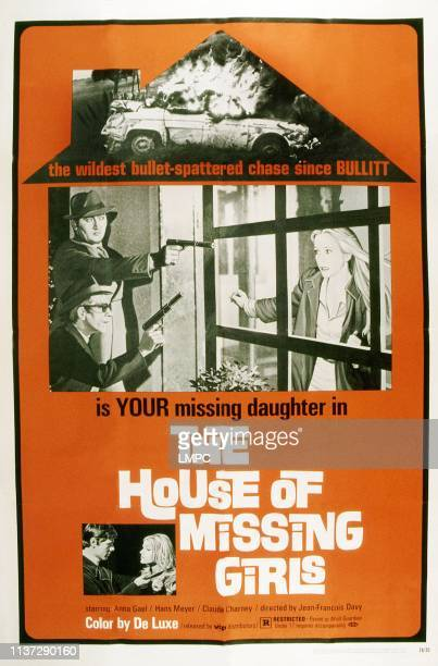 The House Of Missing Girls poster Anna Gael 1969