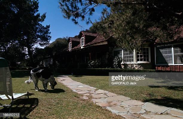 The House Of Sharon Tate Californie Bel Air octobre 1969 la propriété de Sharon TATE actrice américaine vue intérieure de la propriété découvrant la...