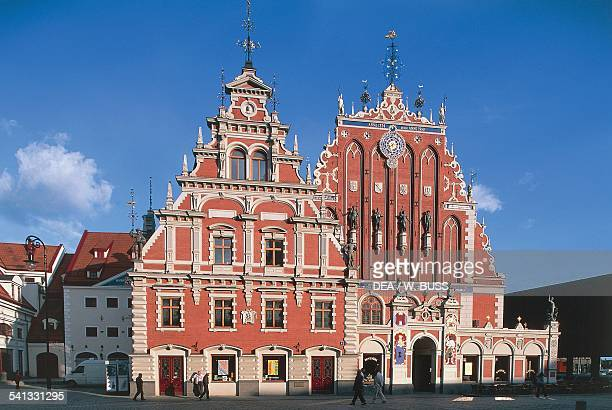 The House of the Blackheads medieval historic centre of Riga Latvia