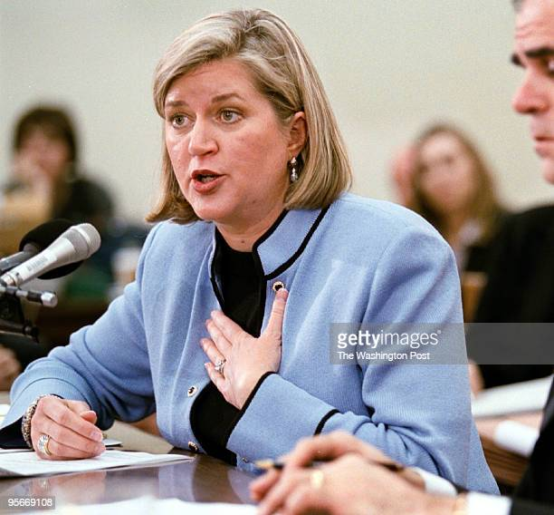 The House Subcommittee on Oversight and Investment had a hearing on the collapse of Enron with 'whistle blower' Sherron Watkins testifying Here Ms...
