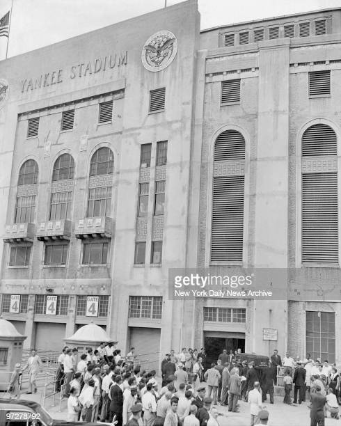The House that Babe Built opens its doors to Babe Ruth for his last visit to Yankee Stadium