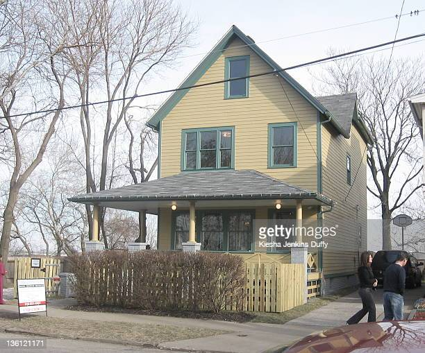 The house used for exterior shots of Ralphie's home from the movie 'A Christmas Story' Cleveland Ohio