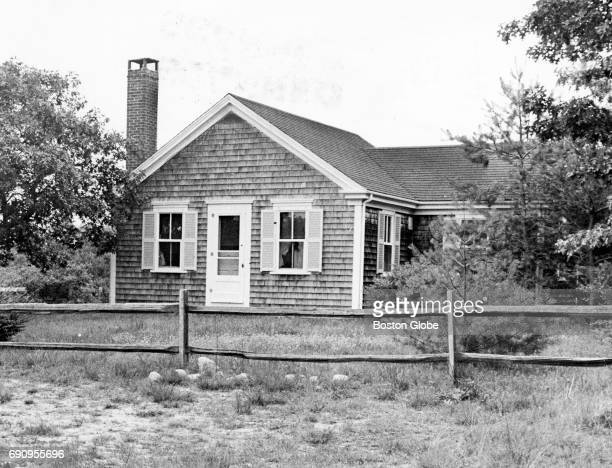 The house were Senator Edward M Kennedy and Mary Jo Kopechne attended a party not he night of the fatal accident on Chappaquiddick Island off the...