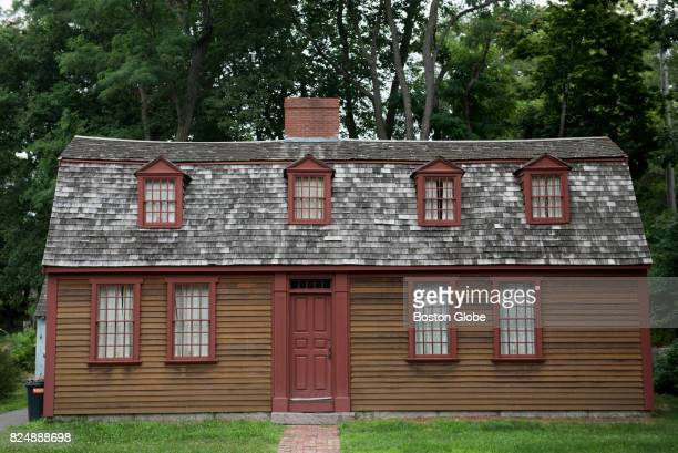 The house where Abigail Adams was born in Weymouth Mass July 22 2017