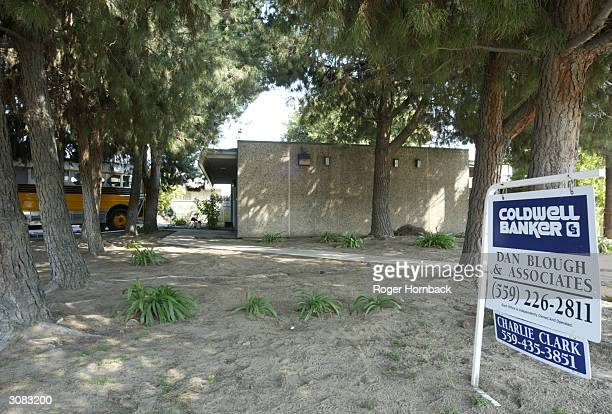 The house where nine bodies were found is seen March 13 2004 in Fresno California According to reports the bodies were found entwined in piles of...